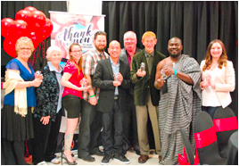 Image of the Group of Award Recipients at the Building Communities Recognition Night