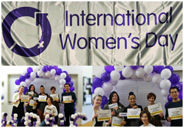 Image of HRNC Staff at the 2018 International Women's Day